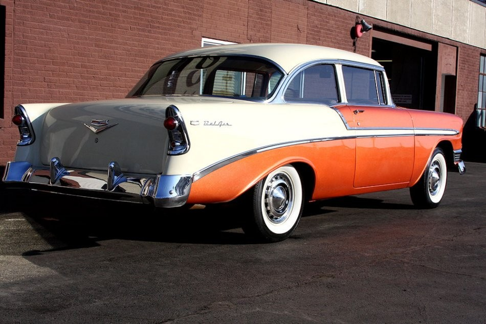 Chevrolet Bel Air Coup 1956 Chevrolet Bel Air De 1956 Prix