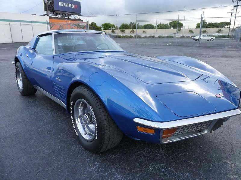 chevrolet corvette coup 1972 corvette c3 de 1972 prix 29900. Black Bedroom Furniture Sets. Home Design Ideas