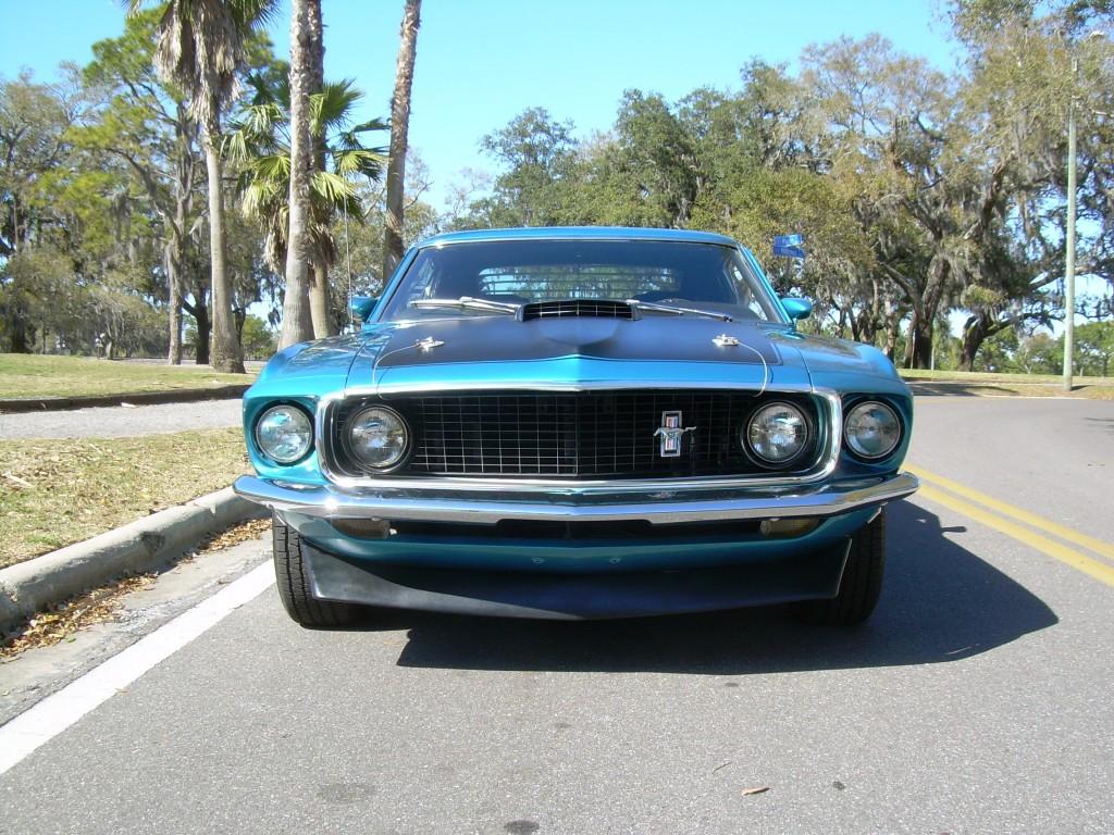 1969 ford mustang mach1 vendu