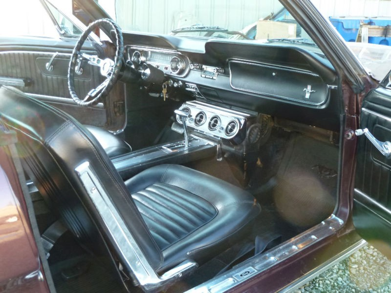 ford mustang fastback 1965 ford mustang fastback de 1965 prix 32500. Black Bedroom Furniture Sets. Home Design Ideas