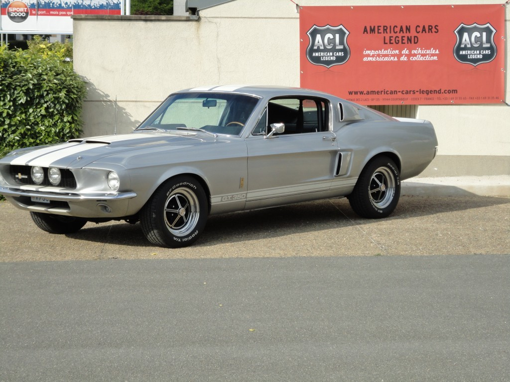 Ford Mustang Fastback 1967 Ford Mustang Shelby Gt 350 De